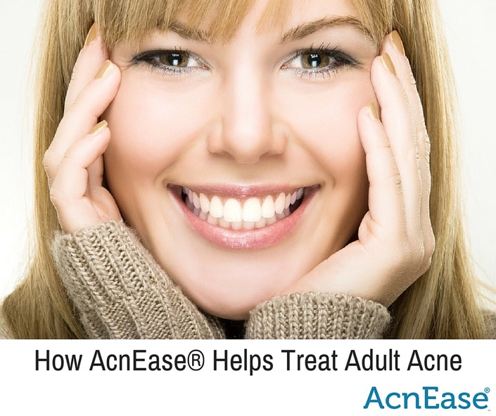 To cure adult acne