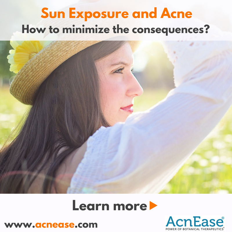 Sun Exposure and Acne: How to minimize the consequences?