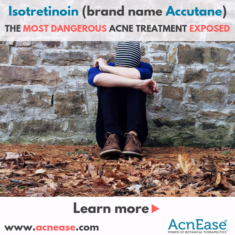 Isotretinoin (brand name Accutane), the most dangerous acne treatment exposed