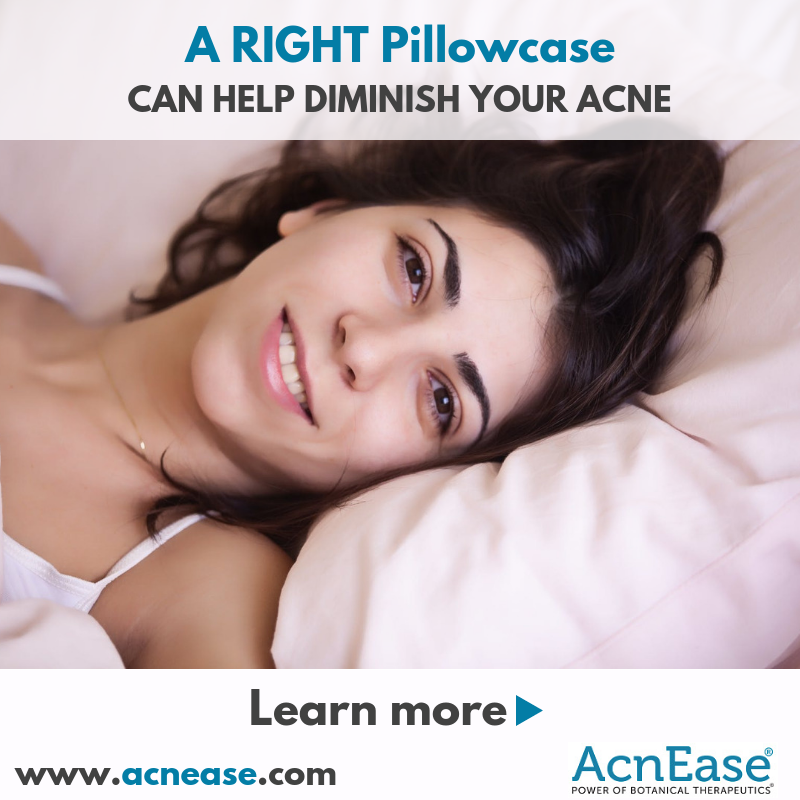 How a RIGHT Pillowcase Can Help Diminish Your Acne?