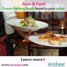 9 acne fighting foods found in your salad